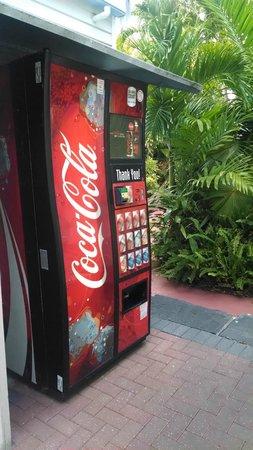 Westwinds Inn: Machine à boissons
