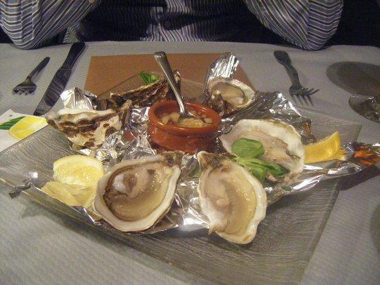 L'Assiette Normande: ostras