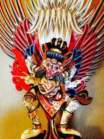 Indonesia Restaurant: Kunst in het restaurant