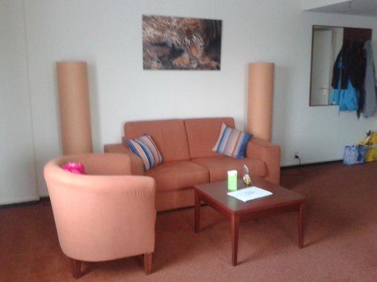 Hotel Greenside : zithoek van onze kamer die zeer ruim was, super!!!