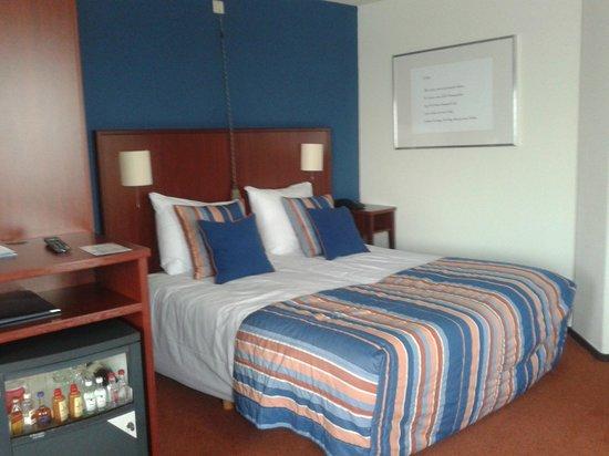 onze kamer in Hotel Greenside