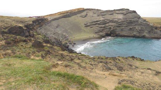 South Point (Ka Lae) y playa Papakolea: Green Sand Beach cover