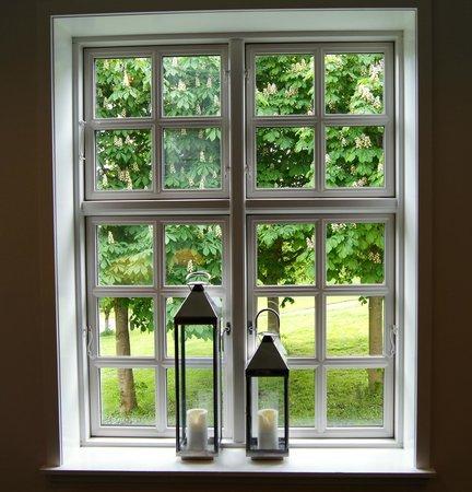Scandic Bygholm Park: Lidt stemning fra et vindue på hotellet.
