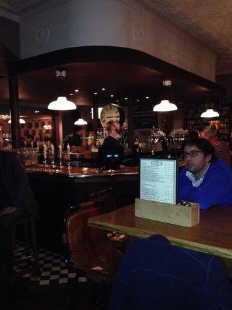 The Prince Edward: Cozy and roomy pub