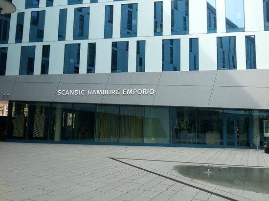 Scandic Hamburg Emporio: hotel view 1