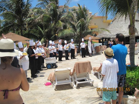 Fiesta Americana Condesa Cancun All Inclusive: chef's staff