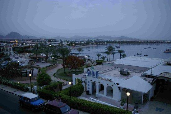 Helnan Marina Sharm: Вид из номера