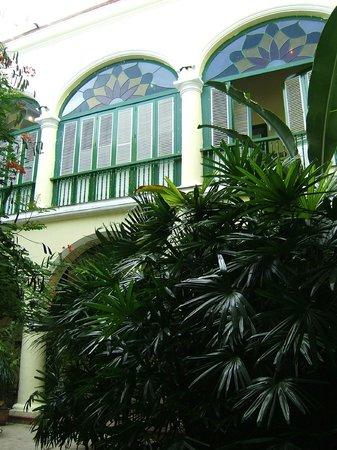 Hotel Conde de Villanueva: Inner courtyard
