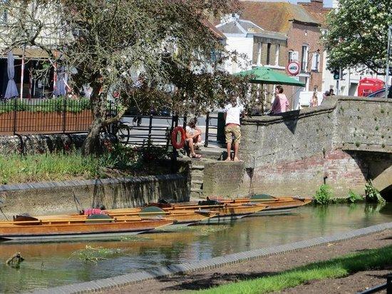 Westgate Gardens: Boat trips