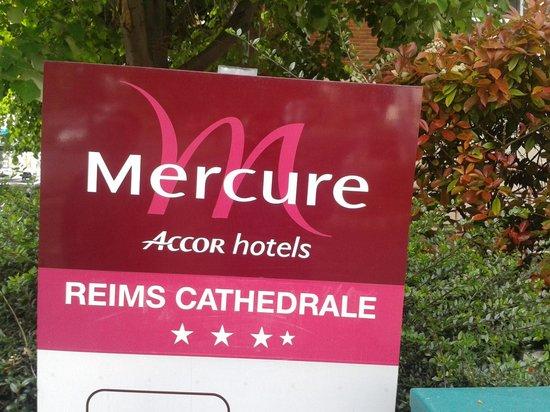 Mercure Reims Centre Cathédrale : mon hôtel.