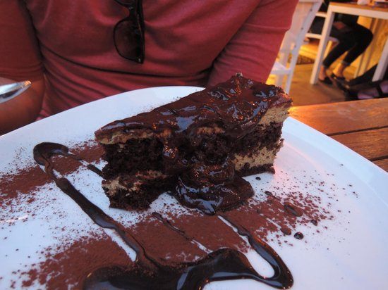 Ristoteca Oniga: chocolate cake