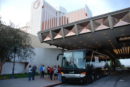 Grand Sierra Resort and Casino : Roddy Ranch on the Bus