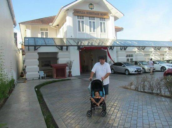 Chulia Heritage Hotel: Outside Area