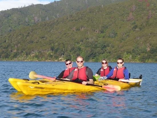 Anakiwa, Nueva Zelanda: sea kayak