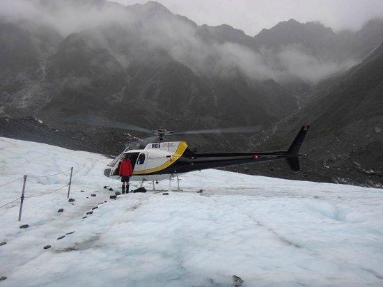 Franz Josef Glacier : Helicoptero