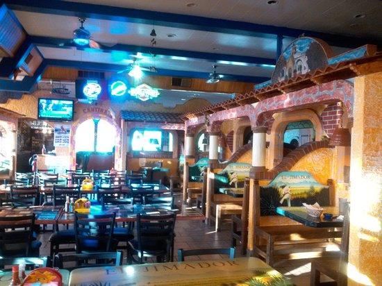 El Jimador Restaurant: Main dining room