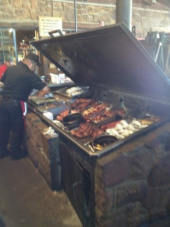 Hard Eight BBQ: yes please, pick what you want, pay by the pound