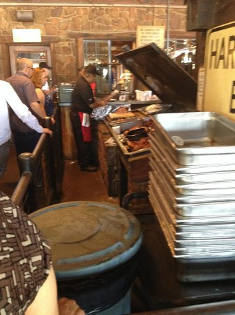 Hard Eight BBQ: in line