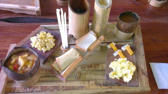 Chalet Tropical Village: Breakfast