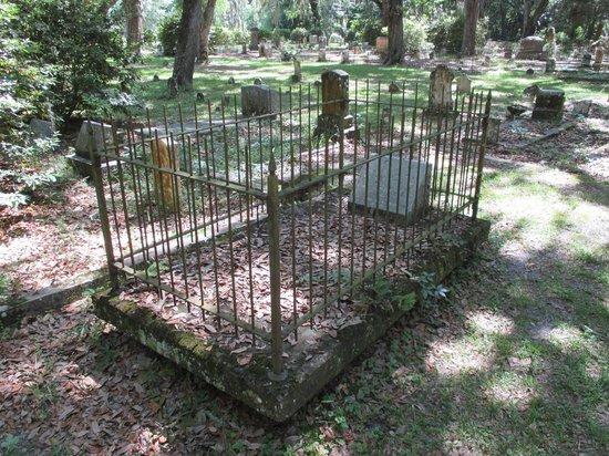 Micanopy Cemetery: Civil war soldier