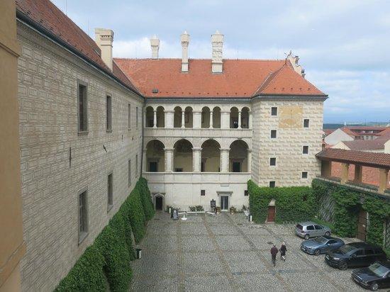 Melnik, Repubblica Ceca: Courtyard