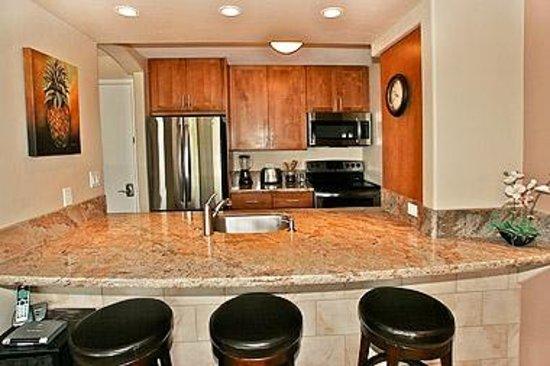 Kealia Resort: electric kitchen