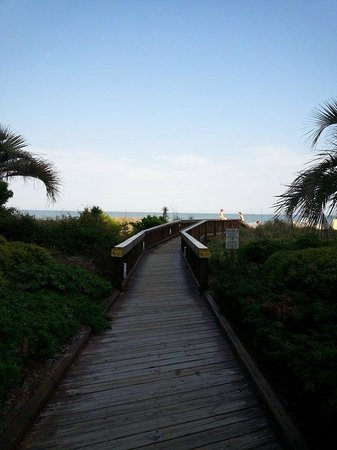 Beach Colony Resort: a few steps to the beach