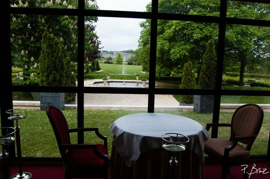 Hostellerie La Briqueterie : Vue de la salle à manger