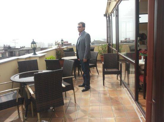 BEST WESTERN Amber Hotel: balcony