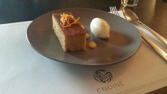 Ondine : Orange and Almond Cake