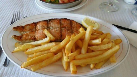 Adega do Ze: Chargrilled Salmon. Fresh & Tasty!!!