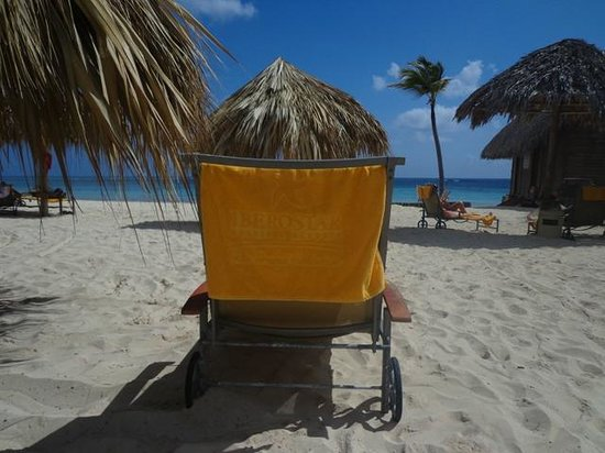Iberostar Grand Hotel Bavaro: my spot on the beach
