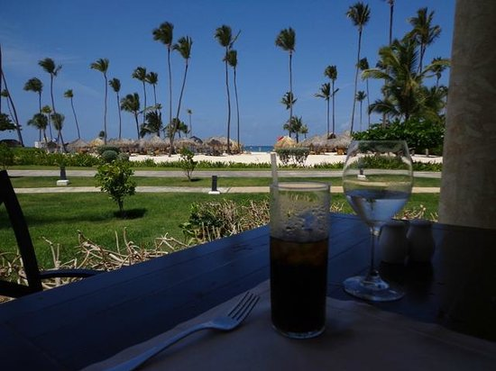 Iberostar Grand Hotel Bavaro: view during lunch