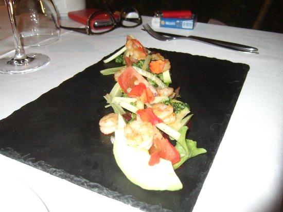 Hotel La tartana: pil pil prawns