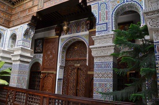 Riad Rcif : la porta della nostra stanza