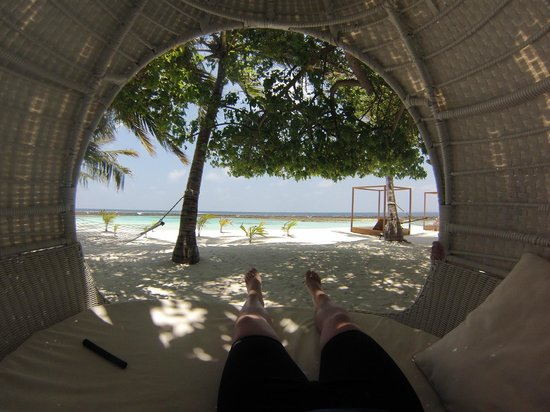 Lily Beach Resort & Spa : The view