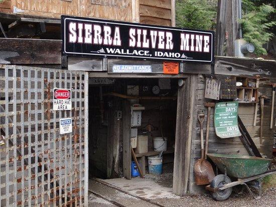Sierra Silver Mine Tour: Outside the mine entrance