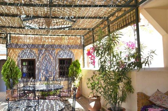 Riad Rcif : la terrazza