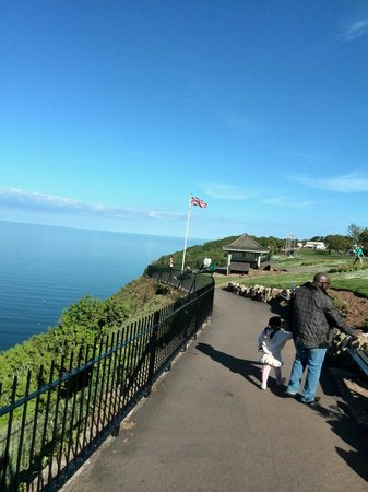 Babbacombe: Cool and breezy