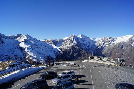 Carretera alpina del Grossglockner: Punkt widokowy położony na wysokości ponad 2500 m.n.p.m.!
