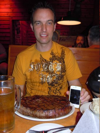 Texas Roadhouse: My perfect steak