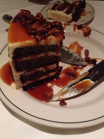 Truluck's Restaurant : The best carrot cake I have ever had!
