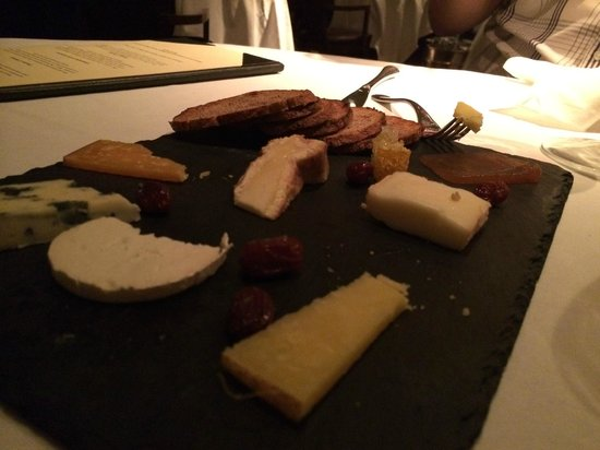 Norton House Hotel & Spa Edinburgh: Cheese platter