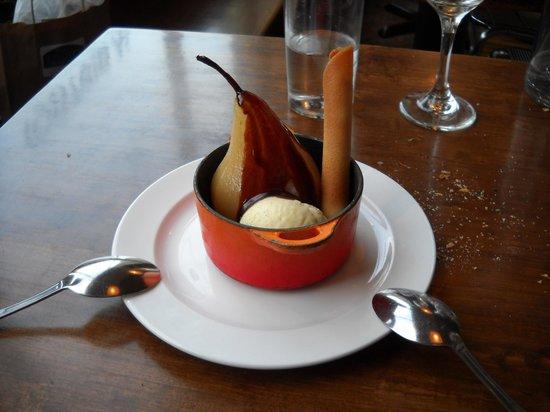 Petite Jacqueline: Pear dessert