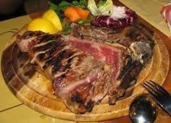 Pizzeria da Gigi: Fiorentina da kg