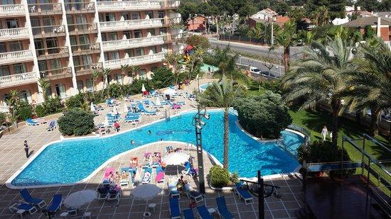 Hotel-Aparthotel Dorada Palace: Espace Piscine