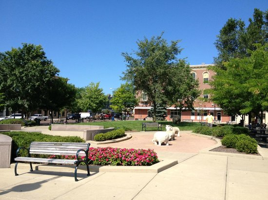 Uptown Park in Oxford, OH
