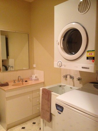 Anabel's of Scottsdale: Bathroom Laundry Unit 3. Full size washer and dryer