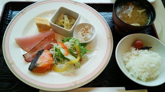 Hotel Sunroute Tokushima : 朝食のブッフェ♪