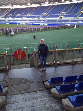 Stadio Olimpico: Forza inter